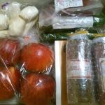 ズッキーニ、そばーむ、りんごなどの詰め合わせ~長野県青木村のふるさと納税特産品(H26)